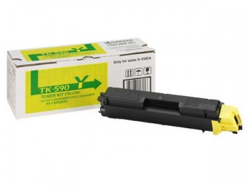 Картридж Kyocera TK-590Y Yellow, вид 1