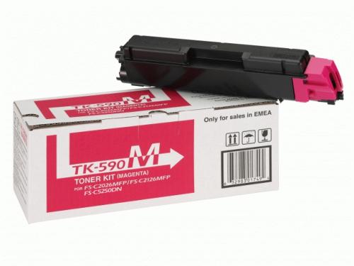 �������� Kyocera TK-590M Magenta, ��� 1
