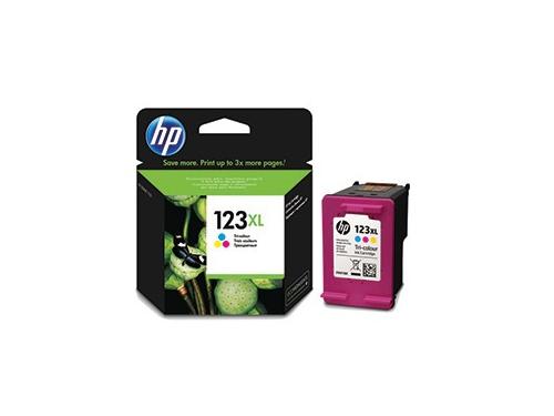 Картридж HP 123XL Цветной (увеличенной емкости), вид 1
