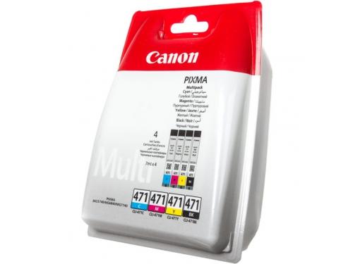 Картридж CANON CLI-471 C/M/Y/BK, вид 1