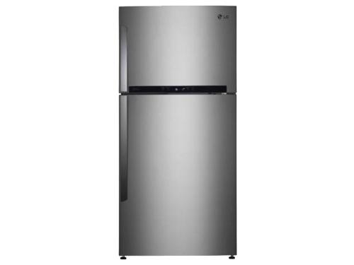 Холодильник LG GR-M802HMHM нержавеющая сталь, вид 1