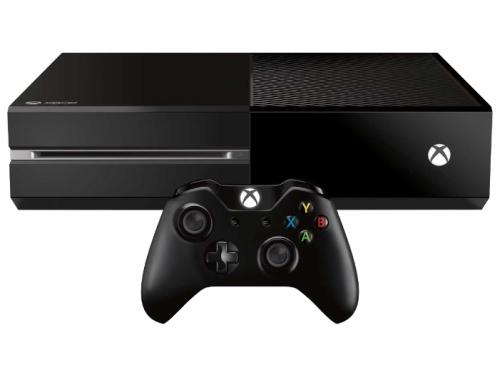 Игровая приставка Microsoft Xbox One, 500 Гб (5C5-00015), чёрная, вид 1