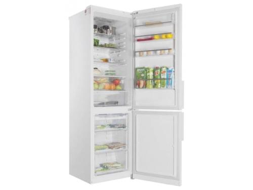 Холодильник LG GA-B489YVQZ белый глянец, вид 1