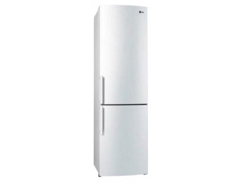 Холодильник LG GA-B489YVCZ белый глянец, вид 1
