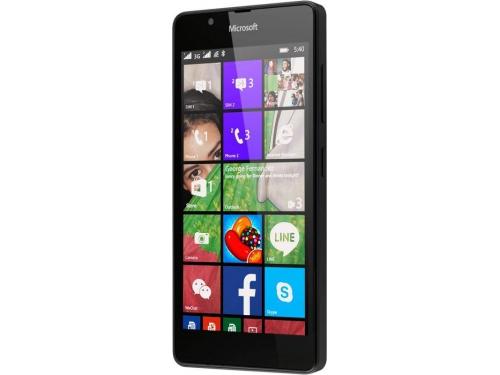 Смартфон Nokia Lumia 540 DS чёрный, вид 3