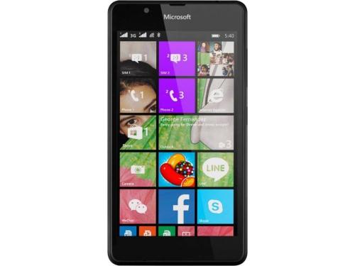 Смартфон Nokia Lumia 540 DS чёрный, вид 1