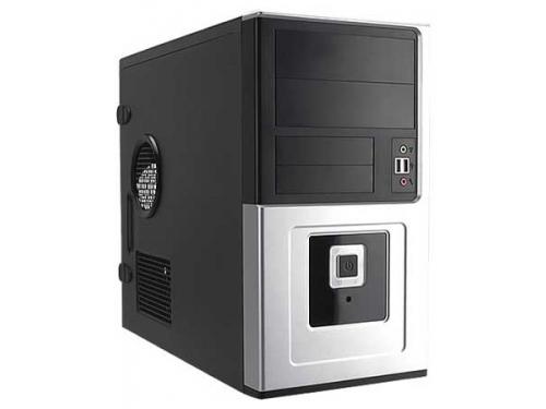 Корпус Inwin EMR016BS 450W, mATX, USB+Audio, черно-серебристый, вид 1