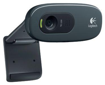 Web-камера Logitech HD Webcam C270, чёрная 960-000636