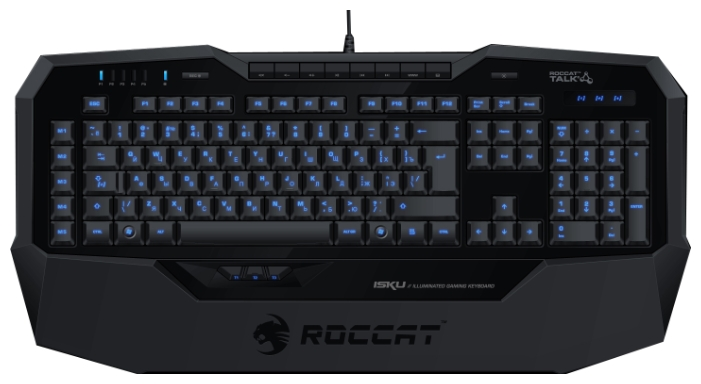 Клавиатура ROCCAT Isku Black USB ROC-12-704/711/731