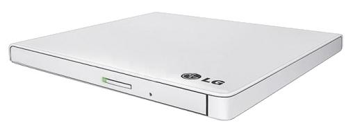 Оптический привод LG GP60NW60 (DVD±RW) USB ultra slim, белый