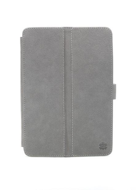 """Чехол для планшета """"Norton"""" универсальный 7,85"""" с уголками серый замшевый"""