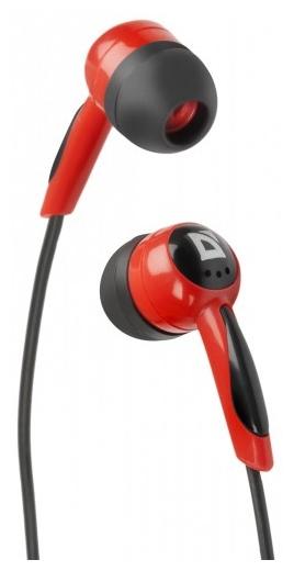 Defender BASIC 604, Черные/красные