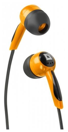 Defender BASIC 604 Чёрные/Оранжевые