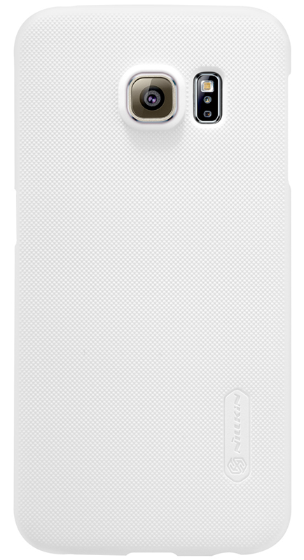 Nillkin Super frosted shield для Samsung Galaxy S6 Edge Белый