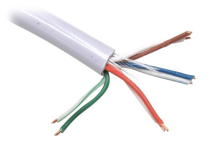Кабель (шнур) TELECOM Ultra TUS44148E UTP 4 пары 5E кат. (100м)