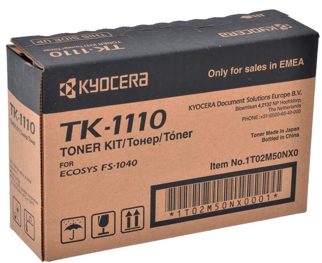 Картридж Kyocera TK-1110 Черный 1T02M50NX0