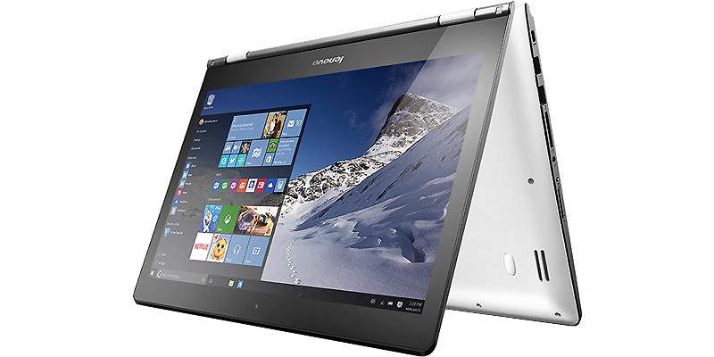 Lenovo IdeaPad Yoga 500-14ISK i7-6500U 4Gb 500Gb nV 940M 2Gb 14 FHD TouchScreen(Mlt) BT Cam 4050��� (80R500BURK)