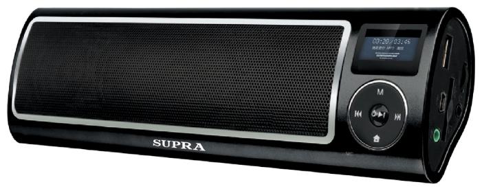 Портативная акустика SUPRA PAS-6255 чёрный PAS-6255 Black