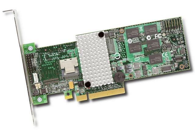 Контроллер LSI-LOGIC LSI Logic MegaRAID SAS 9260-4i SGL, LSI00197