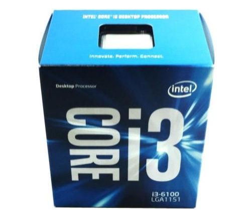 Процессор Intel Core i3-6100 Skylake (3700MHz, LGA1151, L3 3072Kb, BOX)