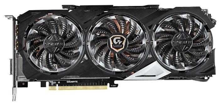 ���������� GeForce GigaByte GeForce GTX 980 1241Mhz PCI-E 3.0 4096Mb 7100Mhz 256 bit DVI HDMI HDCP (GV-N980XTREME-4GD)