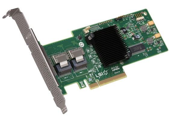LSI-LOGIC MegaRAID 9240-8i (RAID-контроллер, для 8+ дисков, OEM, для сервера) LSI00200