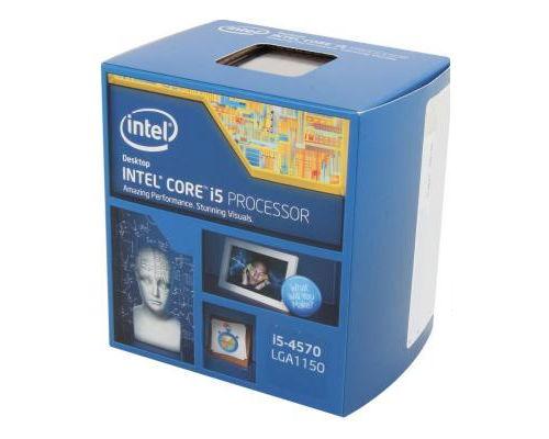 Процессор Intel Core i5-4570 Haswell (3200MHz, LGA1150, L3 6144Kb, Retail)