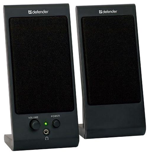 Компьютерная акустика Defender SPK-170 черная 65165