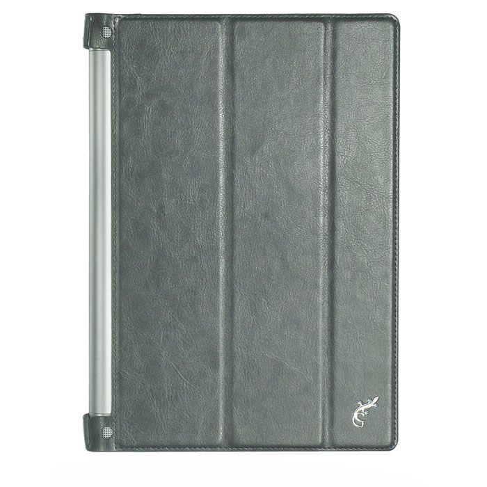 G-Case Slim Premium для Lenovo Yoga Tablet 2 10.1, металик, кожа