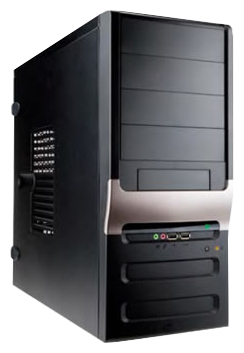 Корпус IN-WIN IN WIN EC025 450W Black (Midi-Tower) EC025BL
