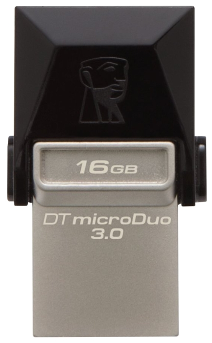 Usb-флешка Kingston 16Gb DTDUO OTG (USB 3.0/microUSB) DTDUO3/16GB