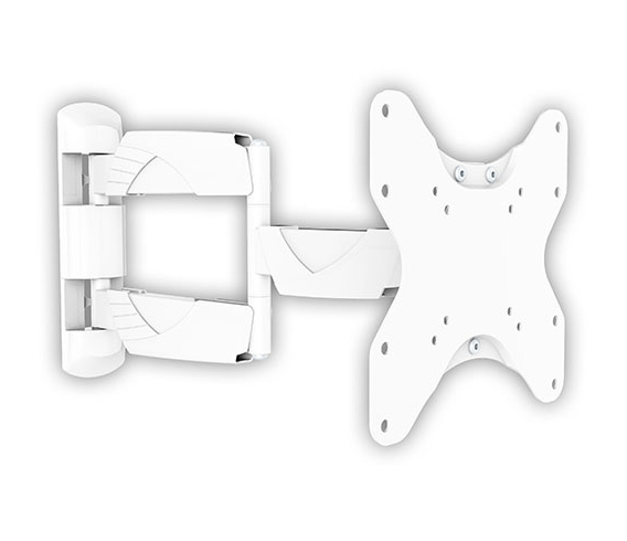 Кронштейн Arm-media Arm Media COBRA-206, настенный, поворот, наклон, 15-40'', до 35 кг, белый 10098
