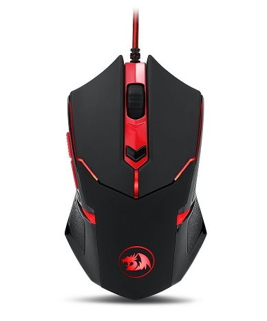 Мышка Defender Redragon Centrophorus Black-Red USB 70235