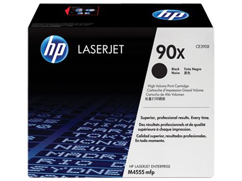 Картридж HP 90X (CE390X), чёрный