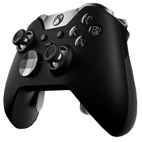 Геймпад MICROSOFT Xbox One Wireless Controller Elite черный HM3-00005