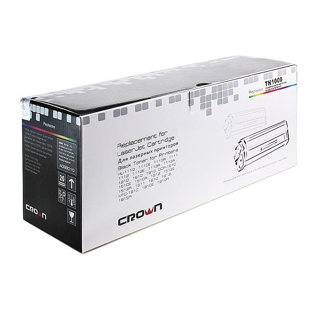 Картридж Crown CM-TN-1000, лазерный, чёрный CM000001466