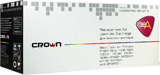 Картридж Crown CM-CE390X Чёрный (увеличенной ёмкости) CM000001562