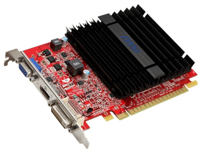Видеокарта Radeon MSI Radeon R5 230 625Mhz PCI-E 2.1 1024Mb 1000Mhz 64 bit DVI HDMI HDCP R5 230 1GD3H