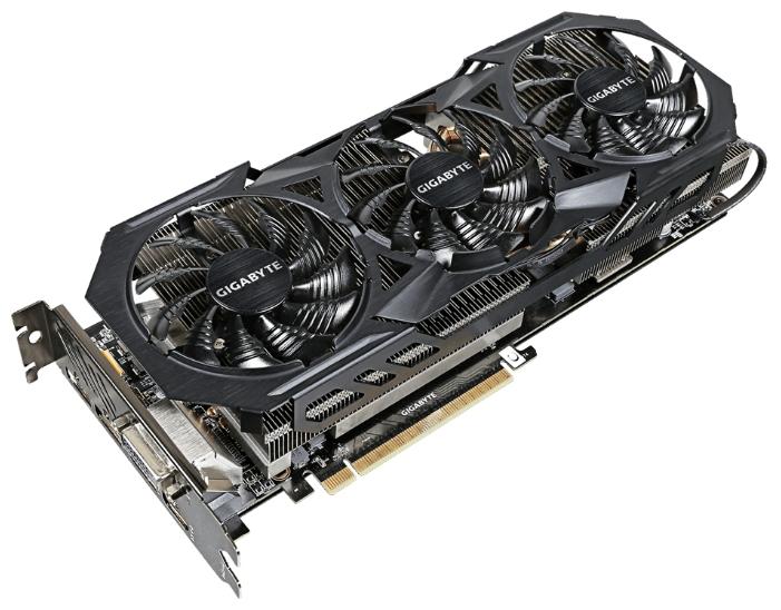 Видеокарта Radeon GigaByte Radeon R9 Fury 1010Mhz PCI-E 3.0 4096Mb 1000Mhz 4096 bit DVI HDMI HDCP GV-R9FURYWF3OC-4GD