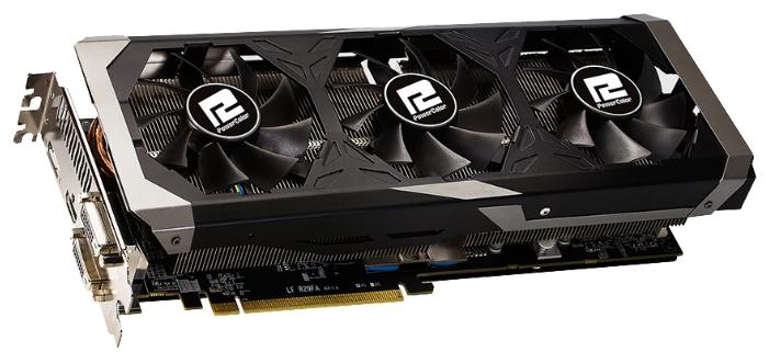 Видеокарта Radeon PowerColor Radeon R9 390 1010Mhz PCI-E 3.0 8192Mb 6000Mhz 512 bit 2xDVI HDMI HDCP AXR9 390 8GBD5-PPDHE
