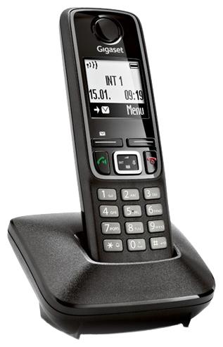 Радиотелефон Gigaset A420, Чёрный A420 BLACK