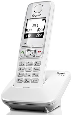 Радиотелефон Gigaset A420, Белый A420 WHITE