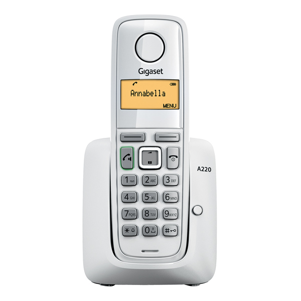 Радиотелефон Gigaset A220, Белый A220 WHITE