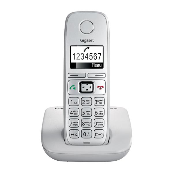 Радиотелефон Gigaset E310, серый S30852-H2301-S301
