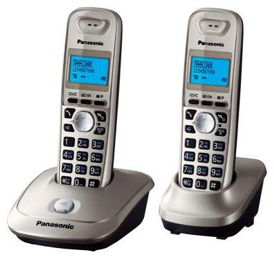 Радиотелефон Panasonic KX-TG2512RU2 черный-титан