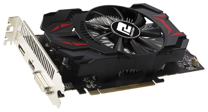 Видеокарта Radeon PowerColor Radeon R7 360 1050Mhz PCI-E 3.0 2048Mb 6000Mhz 128 bit DVI HDMI HDCP AXR7 360 2GBD5-DHE
