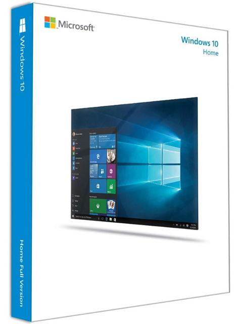 Ос windows MICROSOFT MS Windows 10 Home (Русский, BOX, USB-носитель), KW9-00253