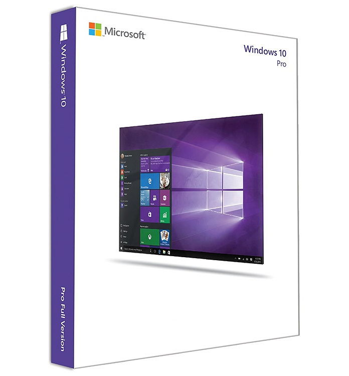 Ос windows MICROSOFT MS Windows 10 Pro (только для России, Retail), FQC-09118