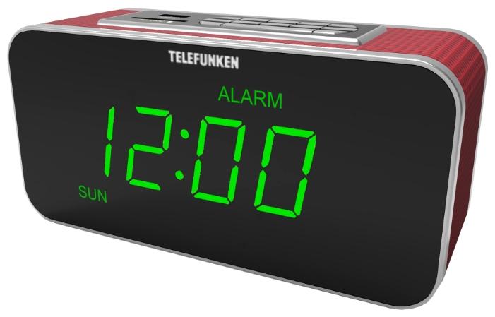 Радиоприемник TELEFUNKEN TF-1503U бургунди/зеленый TF-1503U Burgundy/Green