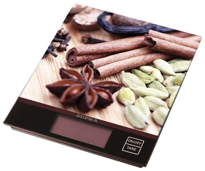 Кухонные весы SUPRA BSS-4097 Коричневые BSS-4097 brown